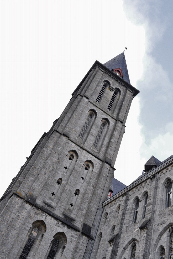 Abbaye de Maredsous (ext). 2014-116