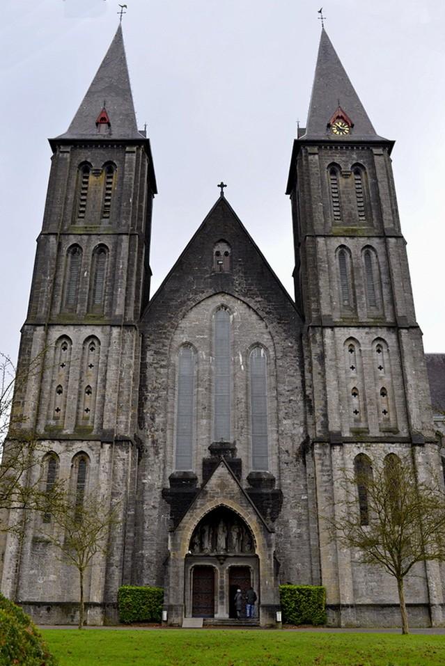 Abbaye de Maredsous (ext). 2014-117