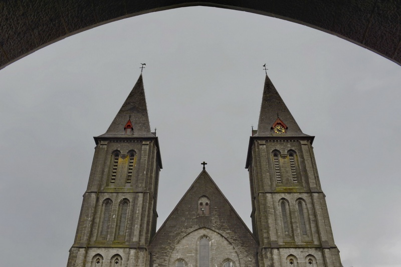 Abbaye de Maredsous (ext). 2014-118