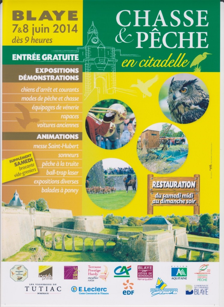 La Ligue des Sauvaginiers Français à Blaye le 7 et 8 juin Chasse11