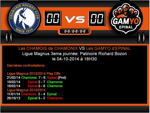 [LM] Chamonix 6 - 2 Epinal (4ème journée, 4 octobre 2014) - Page 3 Chamon10