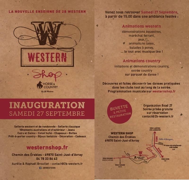 inauguration western shop dans le rhone  Inaugu11
