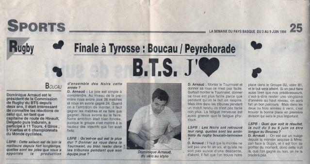Il y a 20 ans (1994) le BTS finaliste de 2ème Division..... Que sont-ils devenus ??? Domini11