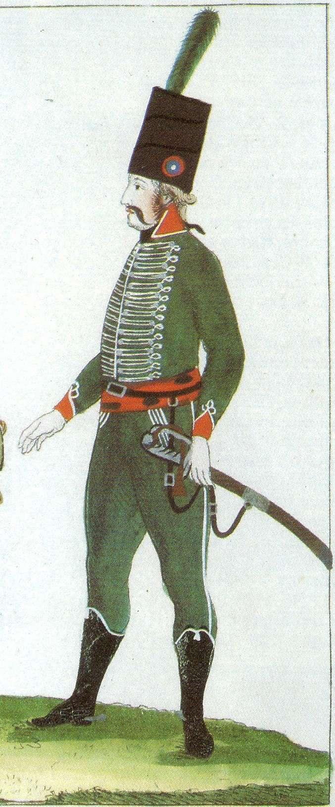 6ème Rgt Chasseur à Cheval 1795 - Atelier Maket 3e_cha10