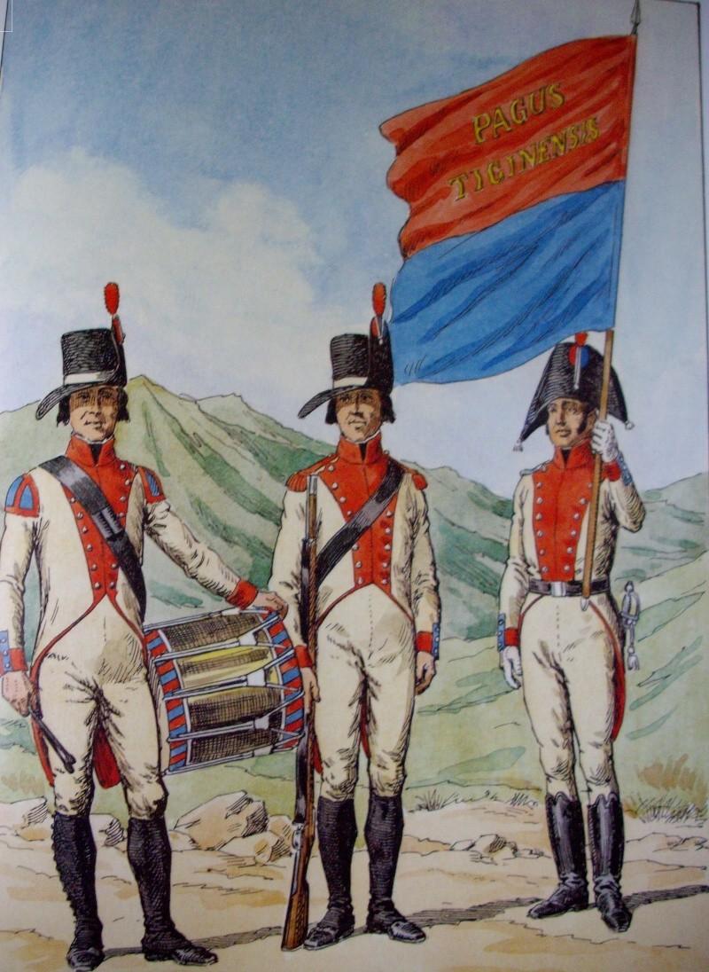 Milice du canton du Tessin vers 1805 Contin10