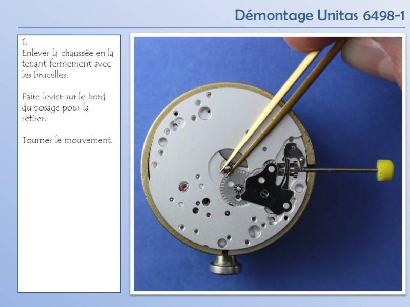 Démontage et remontage Unitas 6498 6498-d10