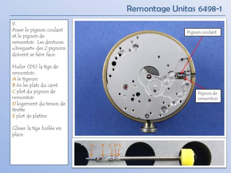 Démontage et remontage Unitas 6498 Diapos18