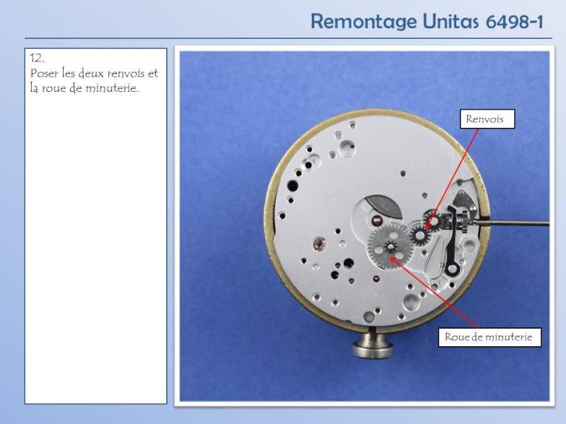 Démontage et remontage Unitas 6498 Diapos21