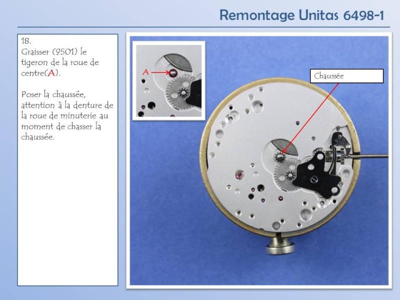 Démontage et remontage Unitas 6498 Diapos27