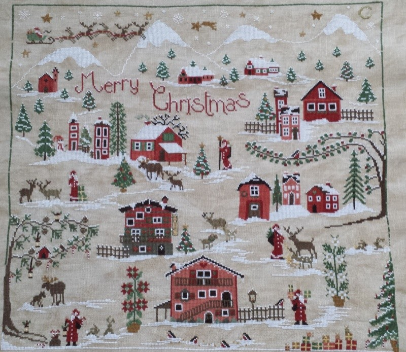 Christmas Village Sara SAL libre  - Page 9 20140510