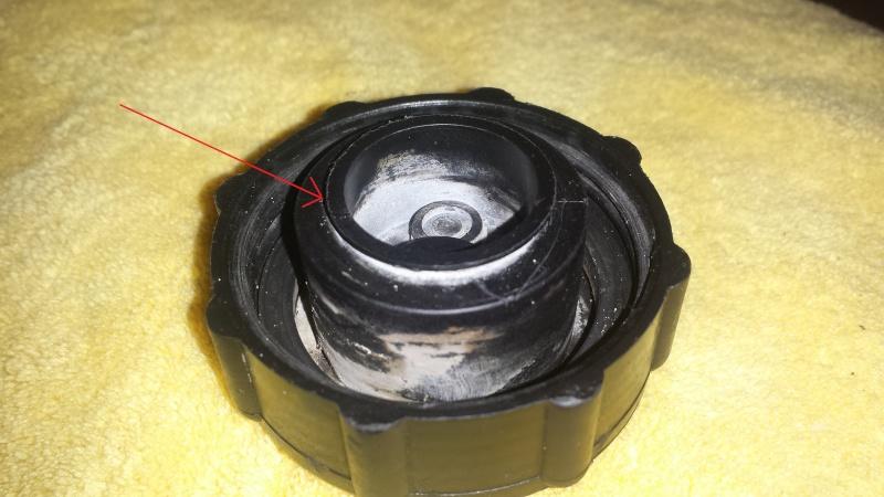 radiator cap ...parts missing ? 20141222