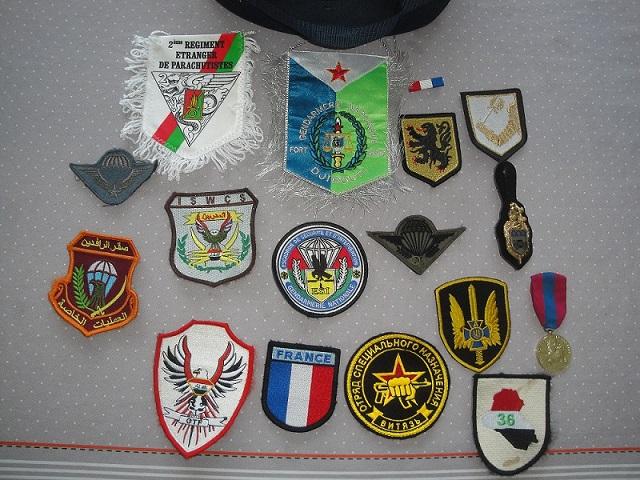 ensemble képi Gendarme et patchs divers - TERMINEE Dsc06720