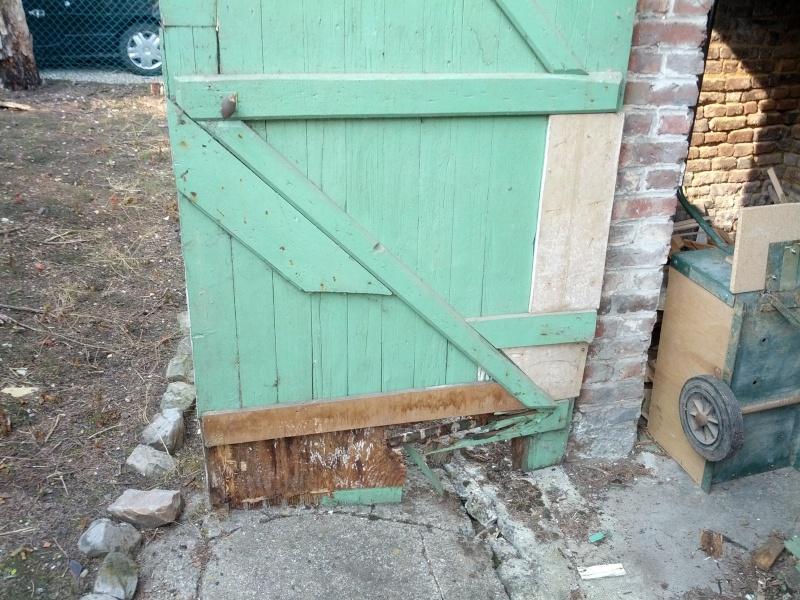 Réalisation de menuiserie extérieur pour un abri jardin Img_2034