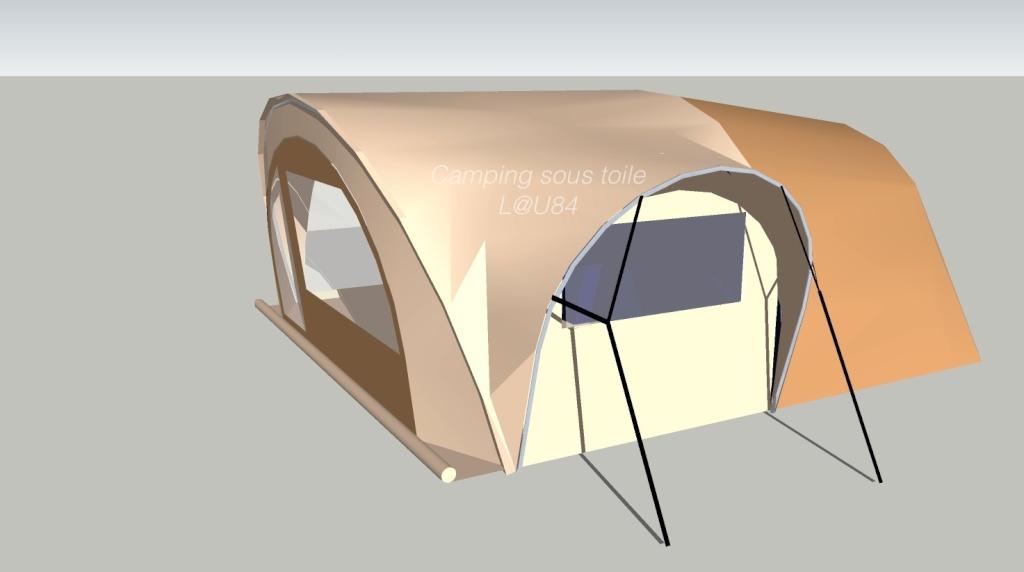 LA TENTE IDEALE - Page 6 Projet23