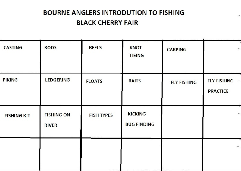 BOURNE ANGLERS AND BLACK CHERRY FAIR CHERTSEY 12 JULY Stall_10