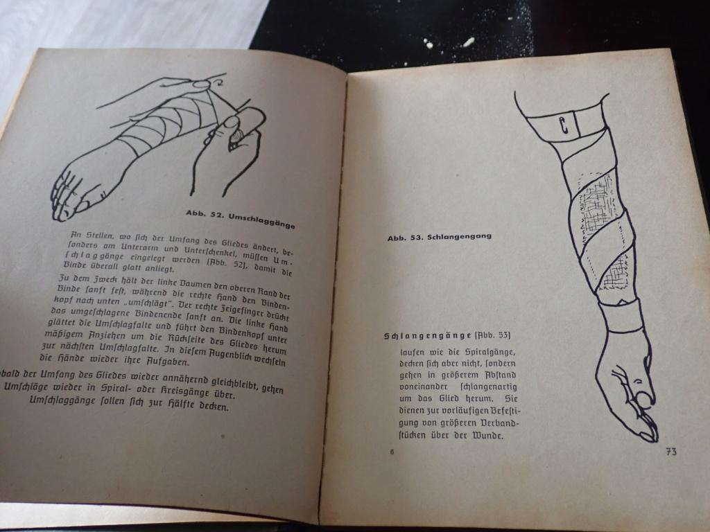 livre allemand d'instruction officiel sur les premiers secours 1941 P9152418