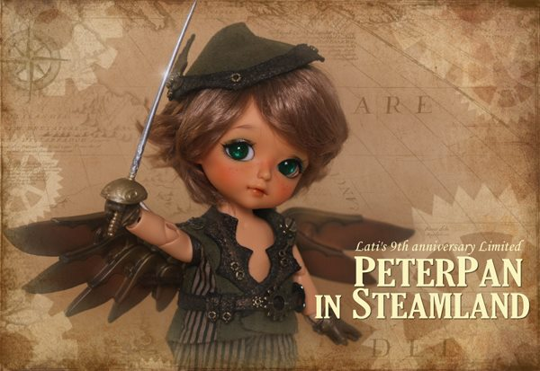 Préoder Septembre 2014 : Peterpan in Steamland 10678610