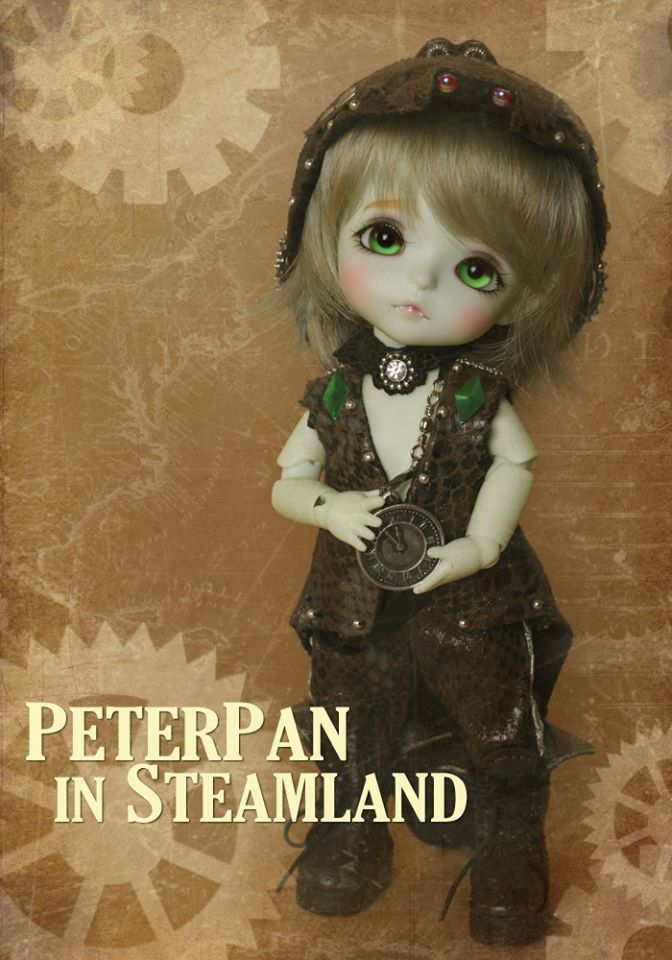 Préoder Septembre 2014 : Peterpan in Steamland 19667710