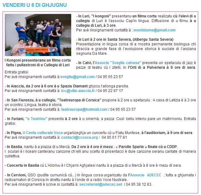Settimana di a lingua corsa - Page 2 Pro10