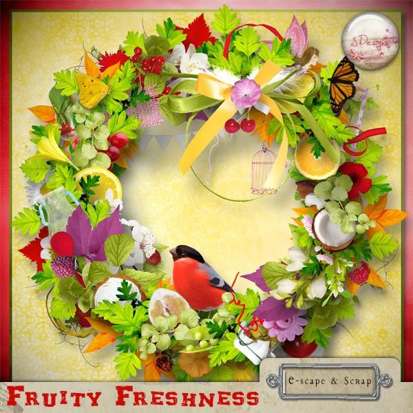 """"""" Fruity Freshness """" S.Designs  Sdesig11"""