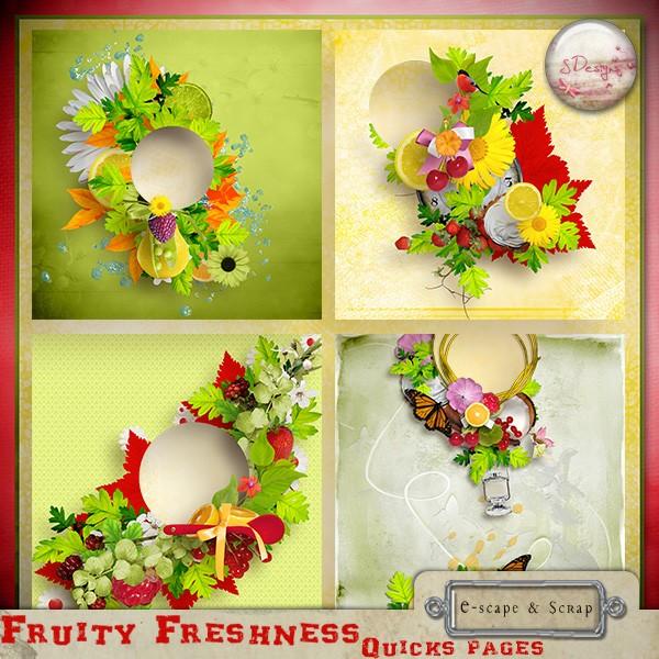 """"""" Fruity Freshness """" S.Designs  Sdesig14"""