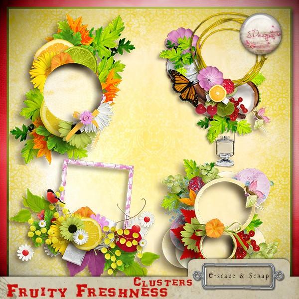 """"""" Fruity Freshness """" S.Designs  Sdesig16"""