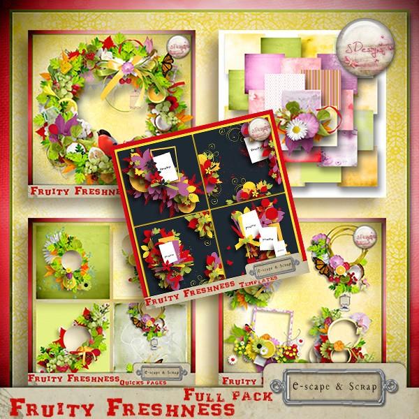 """"""" Fruity Freshness """" S.Designs  Sdesig17"""