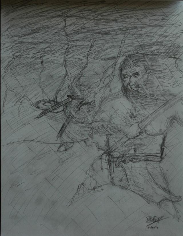 Mes dessins - Page 2 Combat10