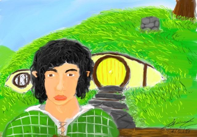 Mes dessins - Page 3 Hobbit11