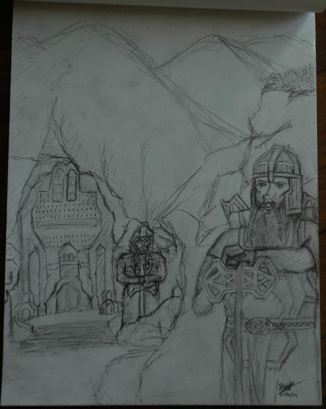 Mes dessins - Page 2 Nain-c11