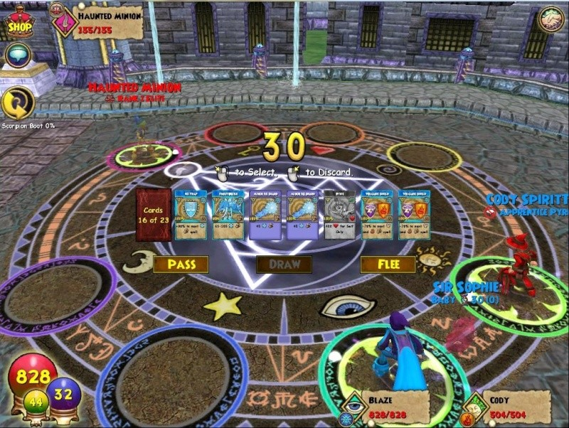 Những MMORPG đánh theo lượt xuất sắc 163