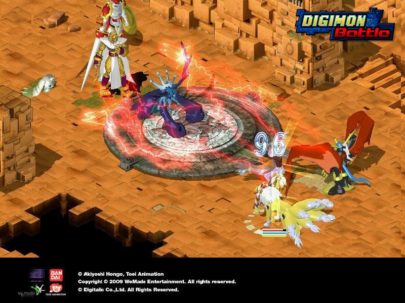 Những MMORPG đánh theo lượt xuất sắc Digimo10