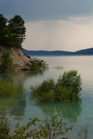 Grand lac: en immersion dans le canard wc du sud est P1120714