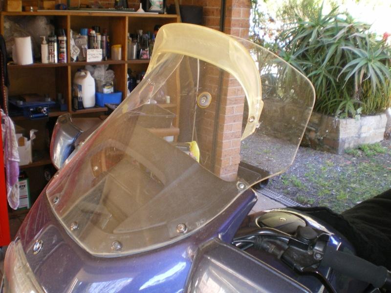 Homemade K75 Metropolitan windshield Imgp0218