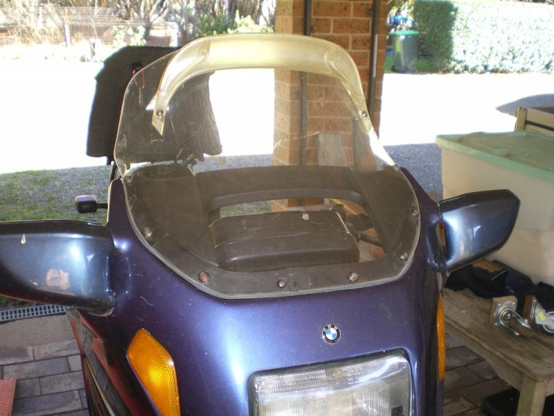 Homemade K75 Metropolitan windshield Imgp0219