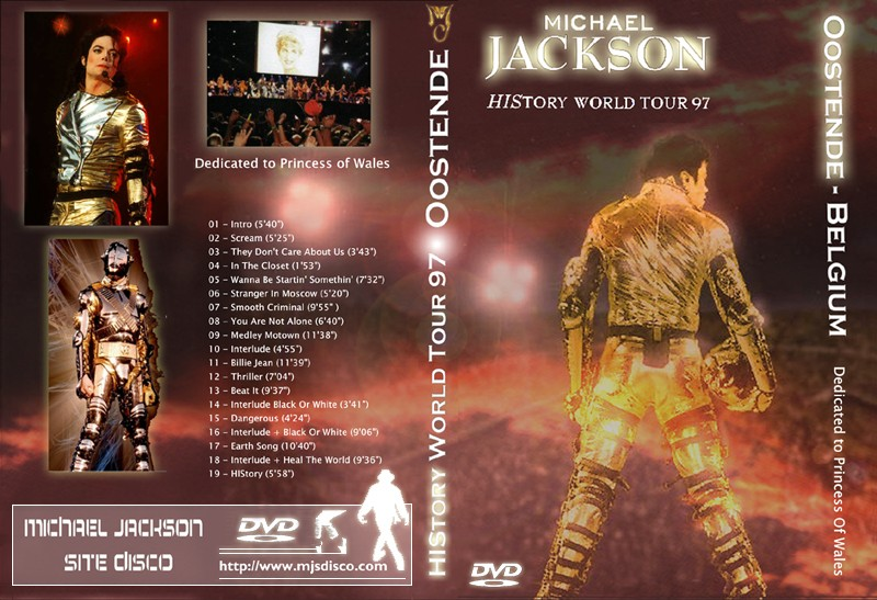 History World Tour - Oostende 1997 Amateur (Restored) + Bônus Report Michae47