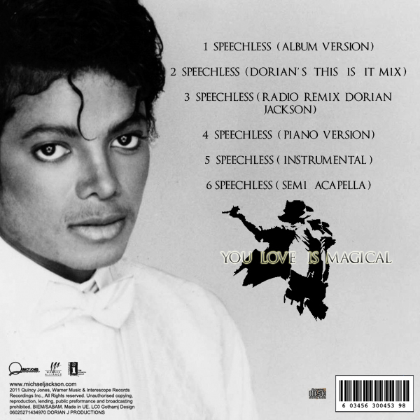 [DL] Singles Collection (Dorian Jackson) Vol. 1 Speech10