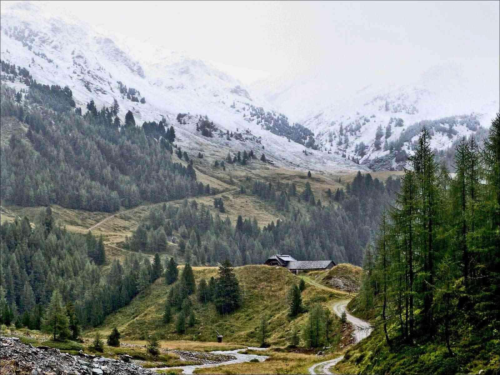 Les alpes  autrichiennes Essai10