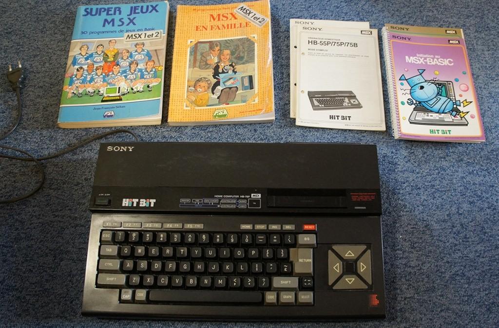 [Vente]  Sony MSX1 à vendre, Cartouches, et cassettes Dsc04210