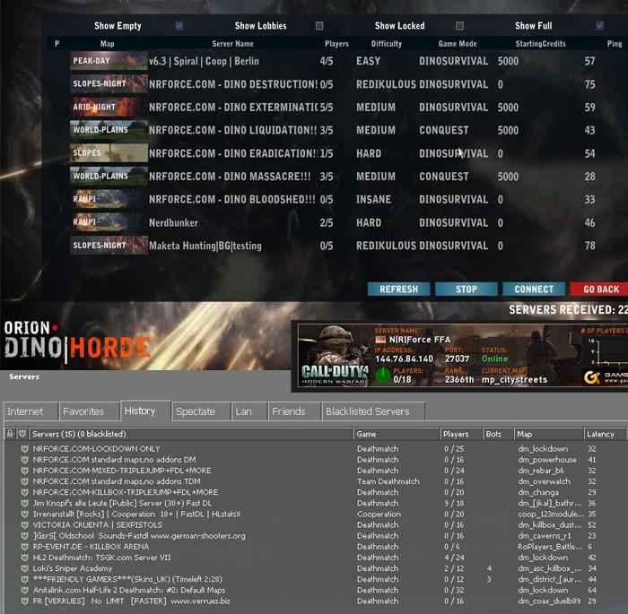 NRForce Servers status July14 Server10