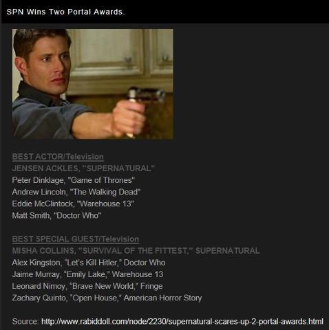 Portal Awards - 2012 55872511