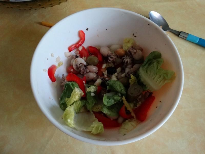 Supions en salade Sup210