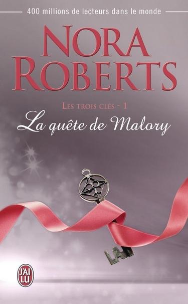 Les  trois clés - Tome 1 : La quête de Malory de Nora Roberts 61uhlf10