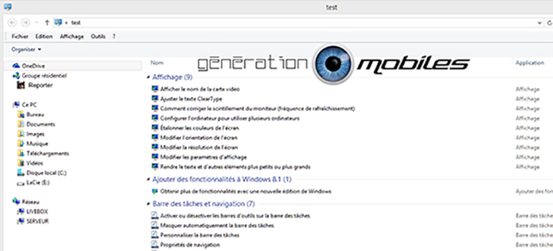 [TUTO] Activer le god mode dans Windows 8 Captur20