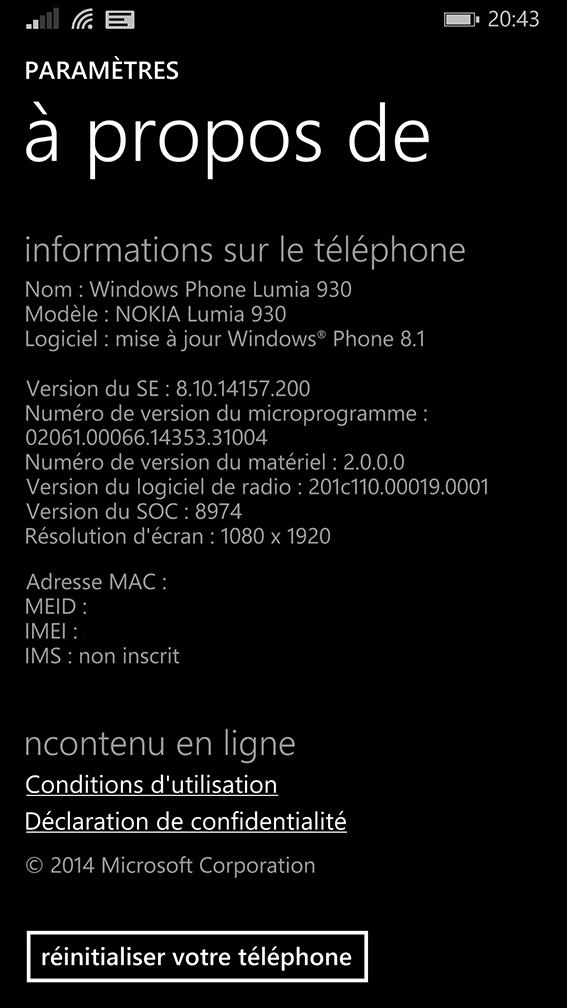 [INFO] Mise à jour du Lumia 930 Wp_ss_11