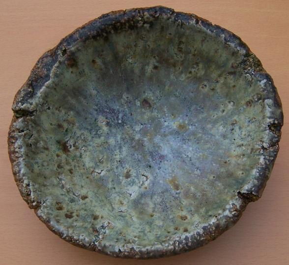 Studio Pottery - Glaze test marks W_glaz10