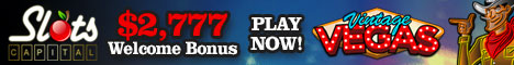 Slots Capital Casino $10 Freeplay Vintage Vegas 468x6010