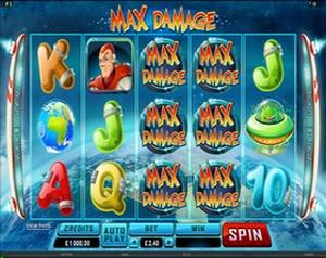 New Microgaming Casino Game Max Damage  Maxdam10