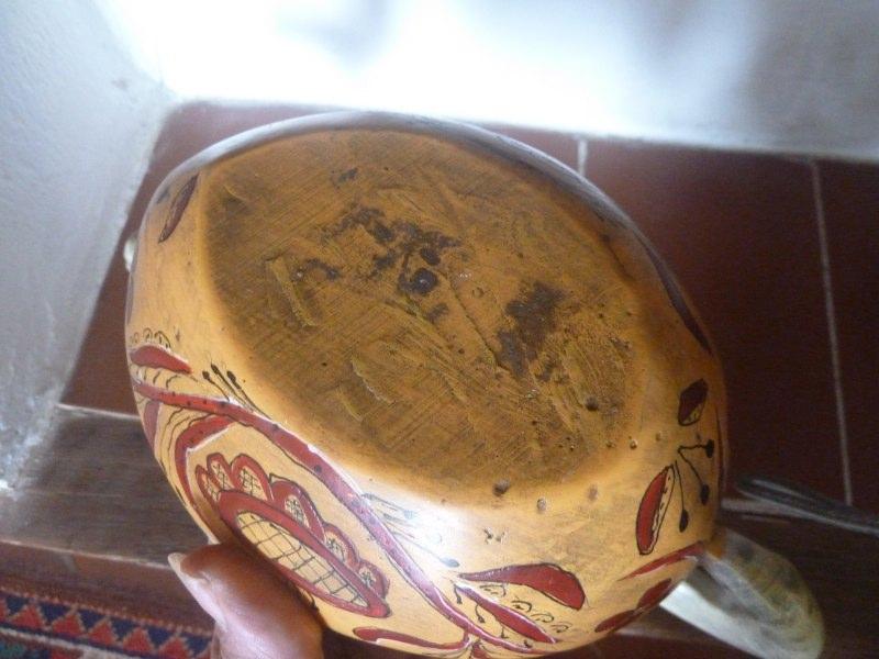 viking ship Antikk ølkrus, reproduction  P1200512