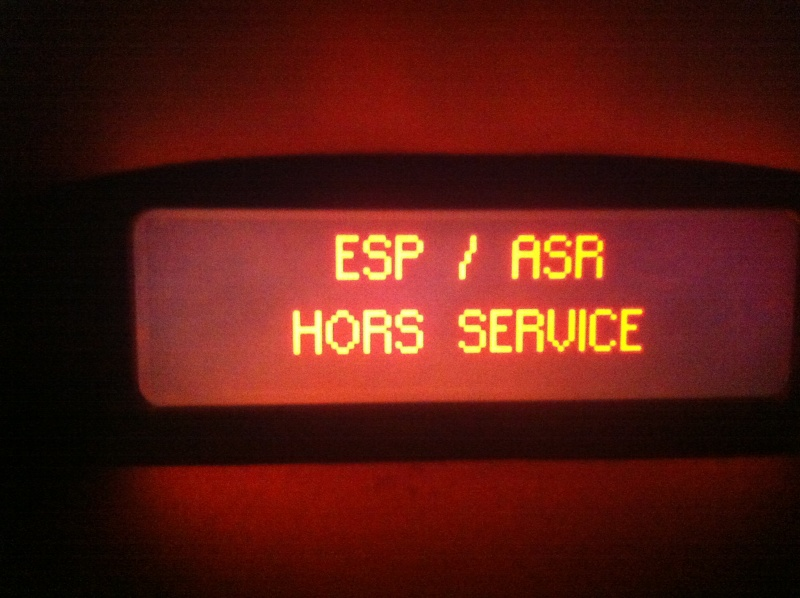 "[PROBLEME] ""ESP / ASR hors service"" Asr_0210"